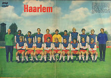 POSTER H.F.C. HAARLEM 1972 (COMES FROM DUTCH COMIC MAGAZINE PEP)