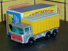 Matchbox Lesney DAF Tipper Container Truck 47 c2 grey top SC2 VNM & Original Box