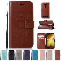 Flip Luxury Leather Wallet Card Cover Case For ASUS Zenfone 2 Laser ZE500KL