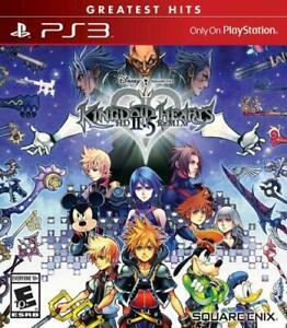 Kingdom Hearts HD 2.5 Remix Square Enix (Sony PS3) Greatest Hits