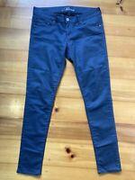 Mavi Jeans size 30 (AU12 ) /32 Serena Low Rise Skinny Leg Grey Denim Jeans