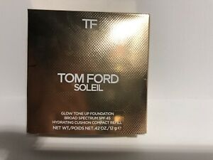 TOMFORD GLOW TONE UP FOUNDATION SPF 45 COMPACT REFILL~CHOOSE YOUR SHADE~12g.