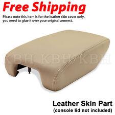 Leather Armrest Center Console Lid Cover Fits 99-04 Lexus GS300 GS400 GS430 Tan