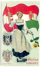 AUSTRIA-HUNGARY Coat-of-arms, seals, crests, national virgin, flag, sunflower