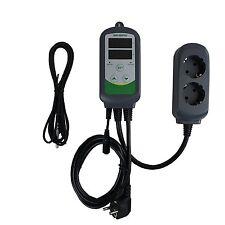 Inkbird ITC-308S Temperaturregler Heizen Kühlen Thermostat 230V AC verdrahtet