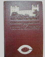 Chicago Alumni Club of the UNIVERSITY OF CHICAGO 1935 Year Book / DIRECTORY