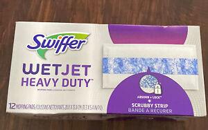 Swiffer WetJet 12 Count Mop Refills Heavy Duty Pads FREE SHIPPING
