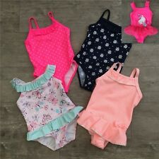 New Baby Girls Daisy Flowers Butterfly Hearts Swimming Costume Swimsuit