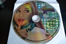 Hannah Montana Living the Rock Star Life! (DVD, 2006)Disc Only Free Shipping