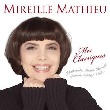 MES CLASSIQUES - MATHIEU,MIREILLE   CD NEUF
