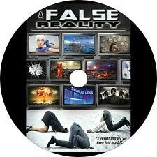 A False Reality (2015) Documentary Dvd