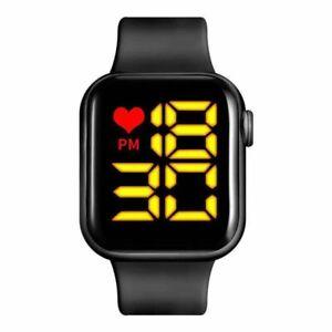 LED Digital Watch Wrist Watches Sports Army watch waterproof Watch for men women