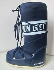 Tecnica Moon Boot Nylon Scuro Blu Tg. 39 - 41 Moon Boots Moonboots Blue