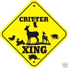 Critter Xing Sign