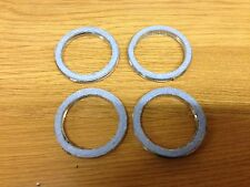 MOTORCYCLE EXHAUST GASKETS SET OF 4 HONDA VT 500 1983-89