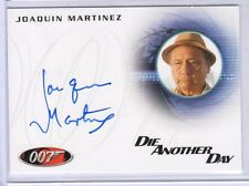 James Bond 50th Anniversary Joaquin Martinez auto card