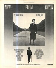 "(RST17) POSTER/ADVERT 13X11"" ELTON JOHN : A SINGLE MAN"
