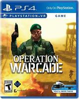 Operation WARCADE: PlayStation 4: VR: Video Game - NEW -Free shipping