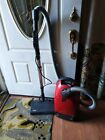 Miele S312i Red Star Canister Vacuum Cleaner with Attachments. photo