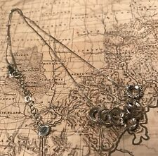 Silpada N3090 Black Spinel Sterling Silver Blackbird Necklace Rings/Charms
