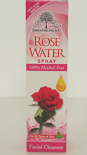 Rose water Facial Cleanser Spray, No Alcohol. FREE SHIPPING