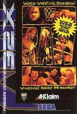 ## SEGA Mega Drive 32X - WWF Raw (nur das Modul, ohne OVP / unboxed) ##