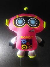 Fiesta Plush Pink Robot