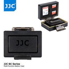 JJC Camera Battery + SD Card Case for Canon EOS RP 800D 760D 750D 77D M6 M5 M3