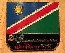 Millennium Village WDW Flag Pin Namibia Pavilion 2000 Disney Pin
