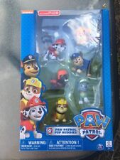 PAW PATROL Pup Buddies 6 Pack *NEW* Nickelodeon Exclusive Gift Set Chase
