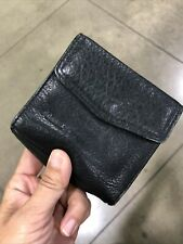 FOSSIL Womens Black Leather Wallet