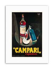 CAMPARI laperitivo. 1926 posterhome ARREDAMENTO POSTER STAMPE SU TELA ART