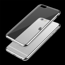 ShockProof Silicone Bumper Clear Slim Case Cover For apple iphone 5 SE 6S 7 Plus
