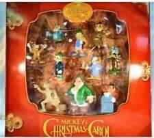 VERY RARE-DISNEY'S -MICKEY'S CHRISTMAS CAROL HOLIDAY CLIP-ON -2003-10 PIC (MIB)