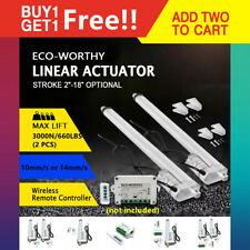 Buy 1 Get 1 Free Dc 12v Heavy Duty Electric Linear Actuator Motor Lift Auto
