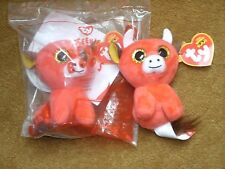 TY McDonald's Teenie Beanie Boo ~ RED BULL ~ SNORT (2017) - New in Package #9