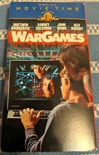 War Games  MGM/UA Movie Time- 1983 VHS - Pre Owned