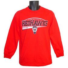 Miami University RedHawks Hockey CI Sport Titan Red Longsleeve Tee - Medium