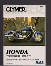 Honda VTX1800 Series 2002 to 2008 Maintenance, Troubleshooting & Repair Manual
