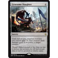 Gruesome Slaughter -- Battle for Zendikar -- Rare -- M/Nm x4