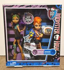 Monster High Werewolf Sister Pack Clawdeen Howleen Wolf Mattel X5227 MINT NRFB
