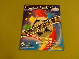 EMPTY PANINI STICKER ALBUM / FOOTBALL 2008 BELGIUM I & II DIVISION