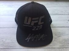 Khabib Nurmagomedov The EAGLE  Signed Autographed UFC 229 Hat Beckett BAS COA a