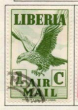 Liberia 1938 AIR Early Issue Fine Used 1c. 164186