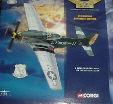 CORGI AVIATION ARCHIVE-49303 P51D MUSTANG CONFEDERATE AIR FORCE