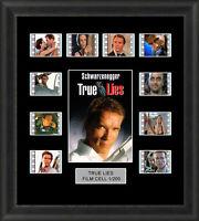 True Lies Framed 35mm Film Cell Memorabilia Filmcells Movie Cell Presentation