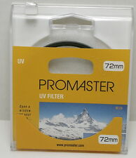 Promaster – 4745 72mm UV Filter  UPC 029144047450 New in box FREE SHIPPING !!!