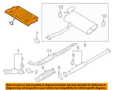 KIA OEM 11-16 Sportage 2.4L-L4 Exhaust-Heat Shield 287962S000