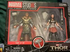 Marvel Legends Marvel Studios First 10 years Thor and Sif 2 pack brand new