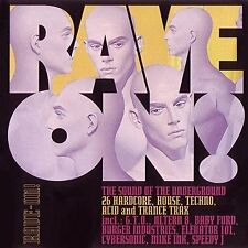 Rave on! (1992) LFO, vieillissement, Baby Ford, speedy J, Cybersonik... [double CD]